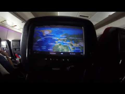 "Virgin Atlantic B747  ""Ruby Tuesday ""  London to Havana.  Turbulence  over Canada:)"