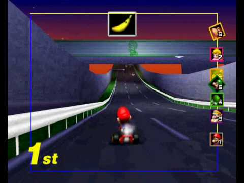 Mario Kart 64 Toad S Turnpike Youtube