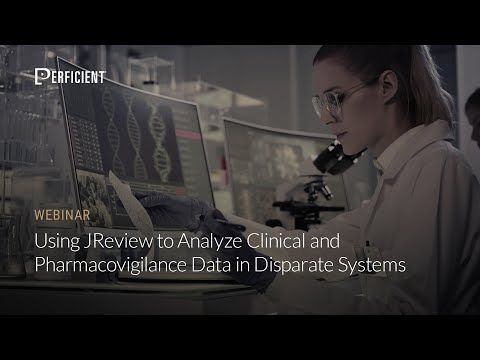Using JReview to Analyze Clinical and Pharmacovigilance Data