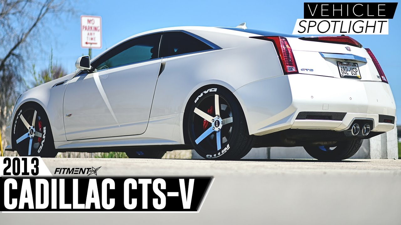 Fitment Inc Vehicle Spotlight Cadillac Cts V 20x9 20x10 5