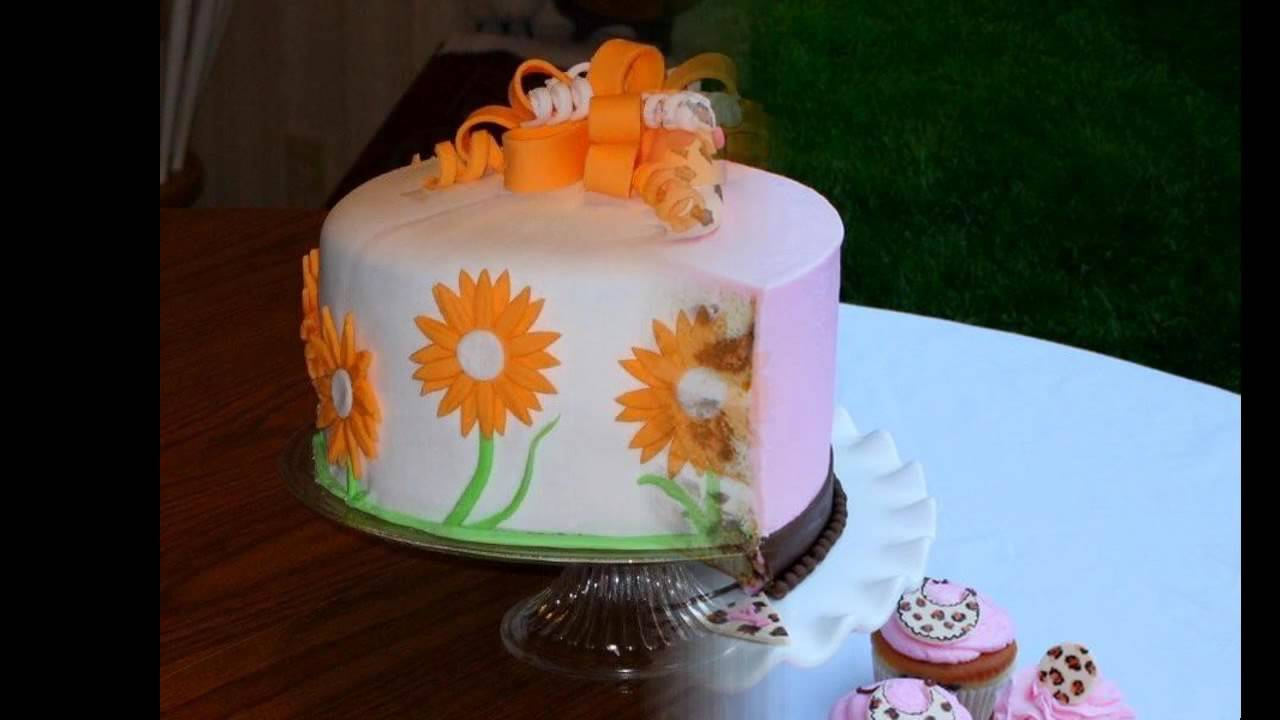 Easy Fondant Cake Decorating Ideas YouTube - Easy fondant birthday cakes