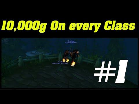 10,000 Gold on EVERY Class | Classic WoW Warlock #1