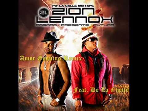 zion y lennox feat de la ghetto - amor genuino