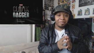 Marvel's Cloak & Dagger Official Trailer REACTION!!!