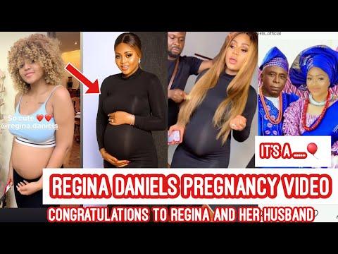 Regina Daniels pregnancy Video it's a Baby… Congratulations to Regina Daniels and Her Husband