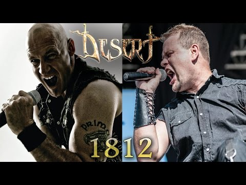 DESERT - 1812 feat.Ralf Scheepers (PRIMAL FEAR) // OFFICIAL LYRIC VIDEO