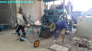 Quy trình sản xuất Gạch Block