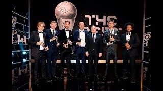 Cristiano Ronaldo named The Best FIFA Men's Player 2017