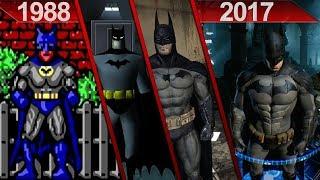 Evolution of Batman Games Graphics on PC | 1988 - 2017