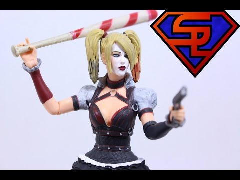 "DC Comics Multiverse 4/"" Arkham Knight Harley Quinn Action Figure"