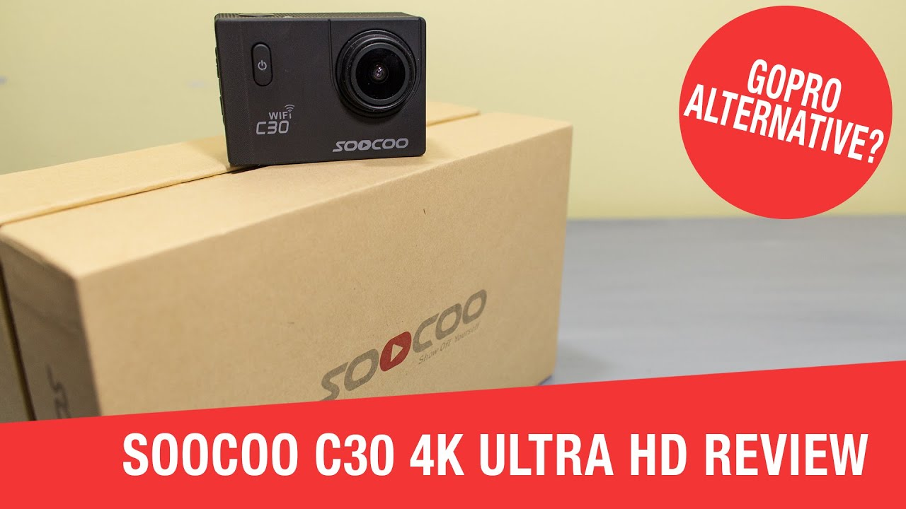gopro alternative soocoo c30 4k ultra hd sports camera. Black Bedroom Furniture Sets. Home Design Ideas