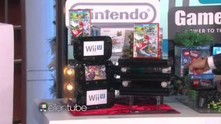 Ellen Degeneres Gives Wii U and Mario Kart 8 to Audience Members for Holidays!