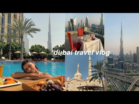 DUBAI VLOG | burj khalifa, the dubai mall, jumeirah beach, + more!