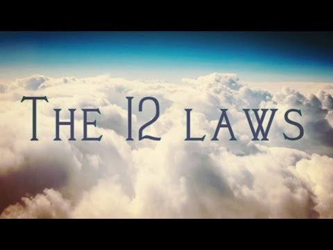 The 12 Universal Laws That Governs Our Lives! (Create Your L