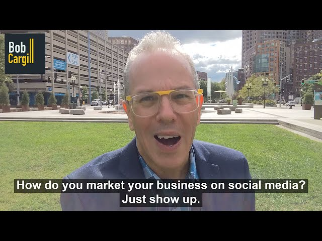 How do you market your business on social media?