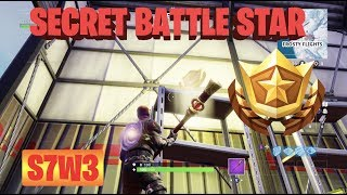 Secret Battlestar Season 7 Week 3 Challenges Fortnite Battle Royale