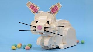 Chocolate Egg Pooping LEGO Bunny