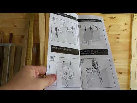 Sliding Barn Door Hardware Kit Review and Barn Door Build