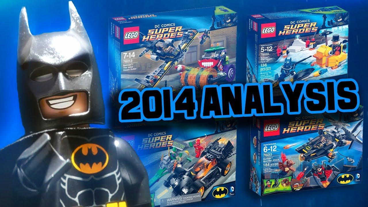 lego dc universe 2014 batman sets full analysis youtube