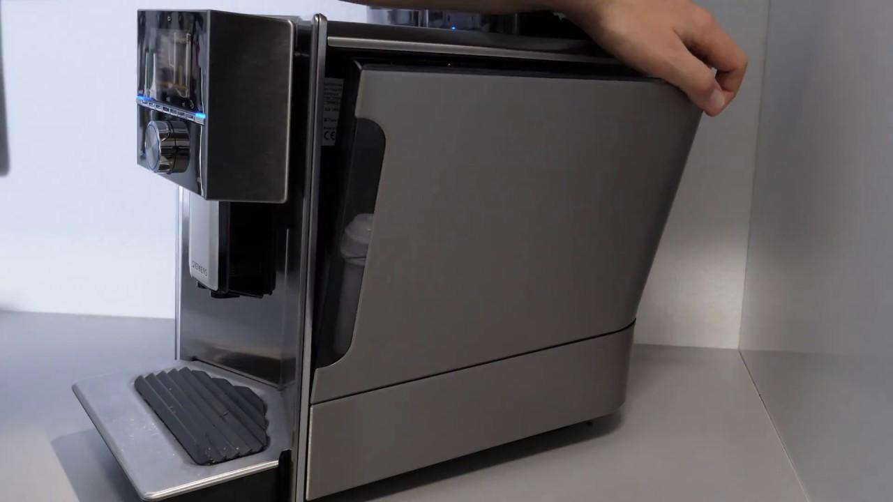 siemens eq 9 kaffeevollautomat wasserfilter wechseln youtube