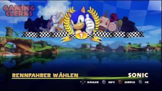 Sonic & Sega All-Stars Racing PS3 - Ausgepackt