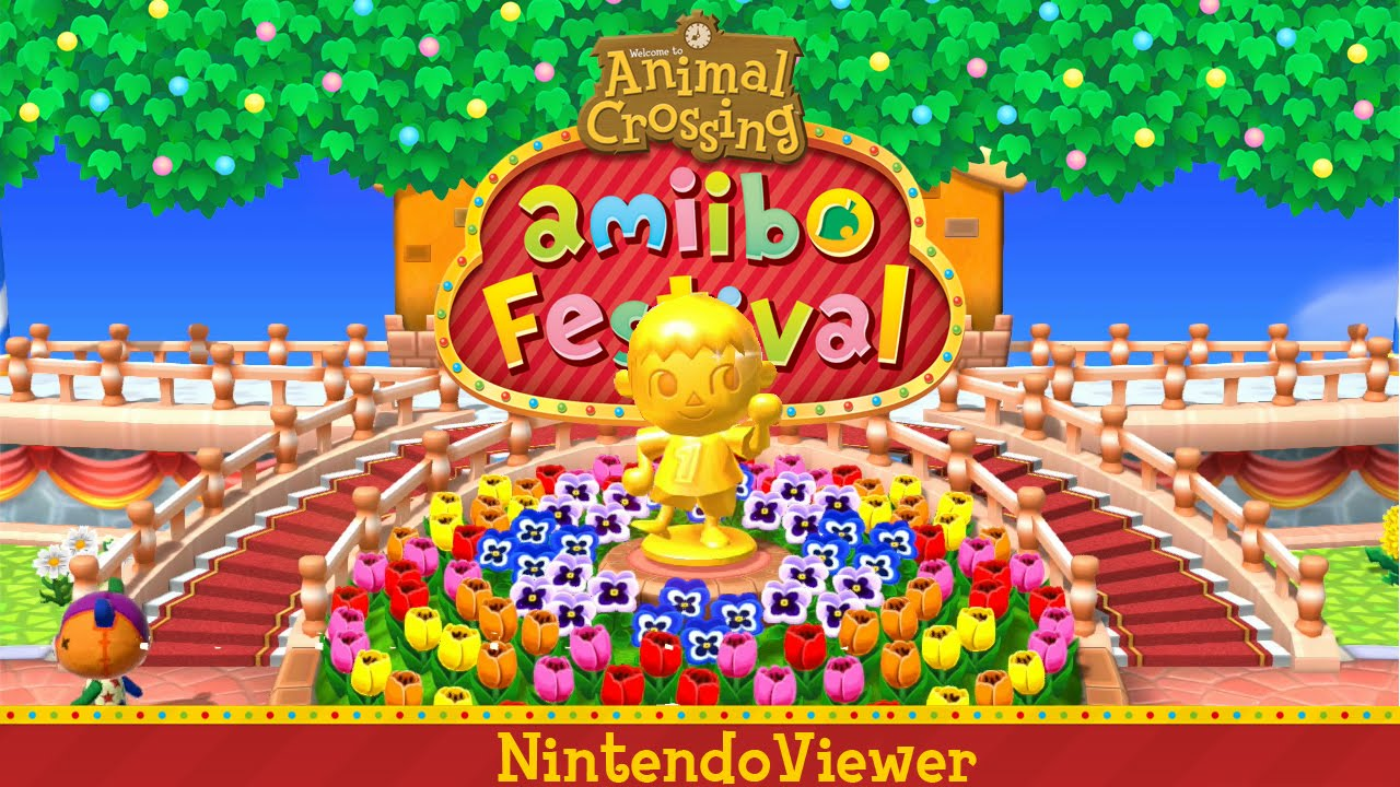 [Gameplay] Animal Crossing: amiibo Festival - Plaza: Villager Selection