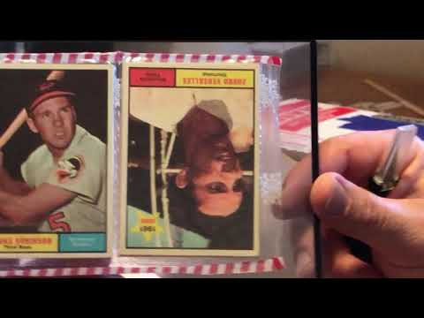 #7 Another 1961 Baseball Xmas Rack Pack Reveal!  Seeing Which Three 1961 Packs I Got This Time!