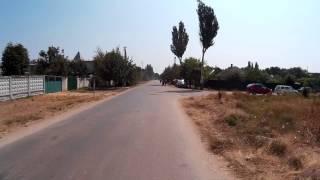 Вот такие улицы в Хорлах  Херсонская область  Украина