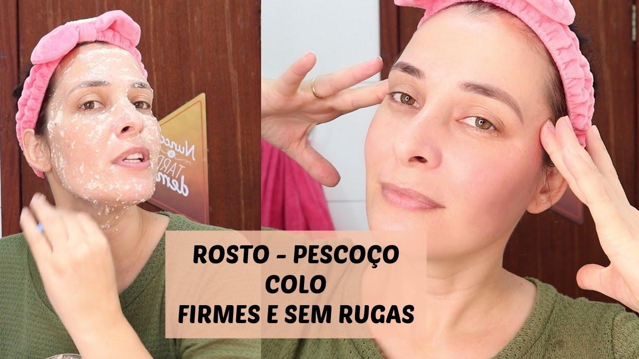 ROSTO PESCOÇO E COLO MAIS FIRMES LIVRES DE RUGAS E FLACIDEZ