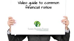 Financial Ratios used in commercial lending explained