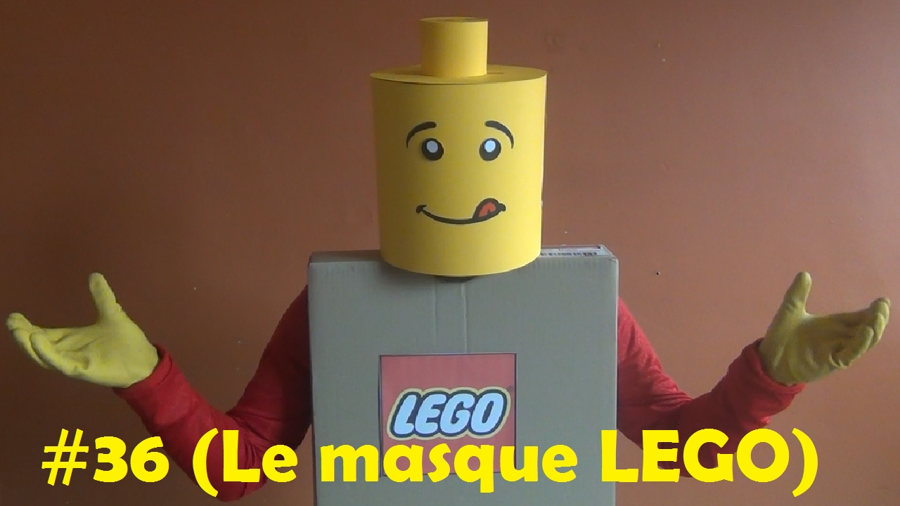diy bricolage faire la maison 36 le masque lego youtube. Black Bedroom Furniture Sets. Home Design Ideas