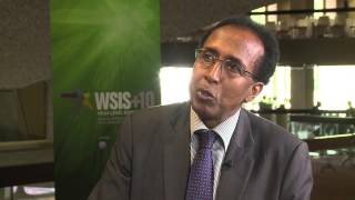 WSIS+10 INTERVIEW: Dr Mohamed Ibrahim, Minister of Information Posts & Communications, Somalia