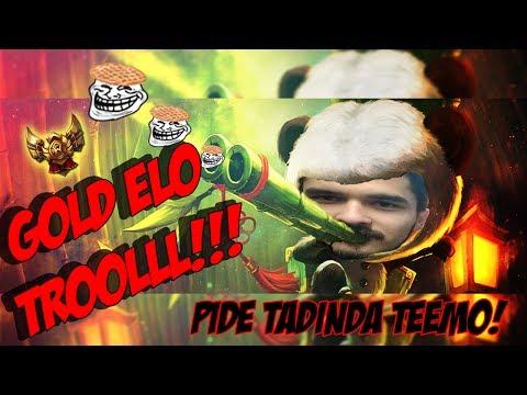 Ramazan Pidesi Tadında Full AD Jungle Teemo - PBY Ekip - LoL