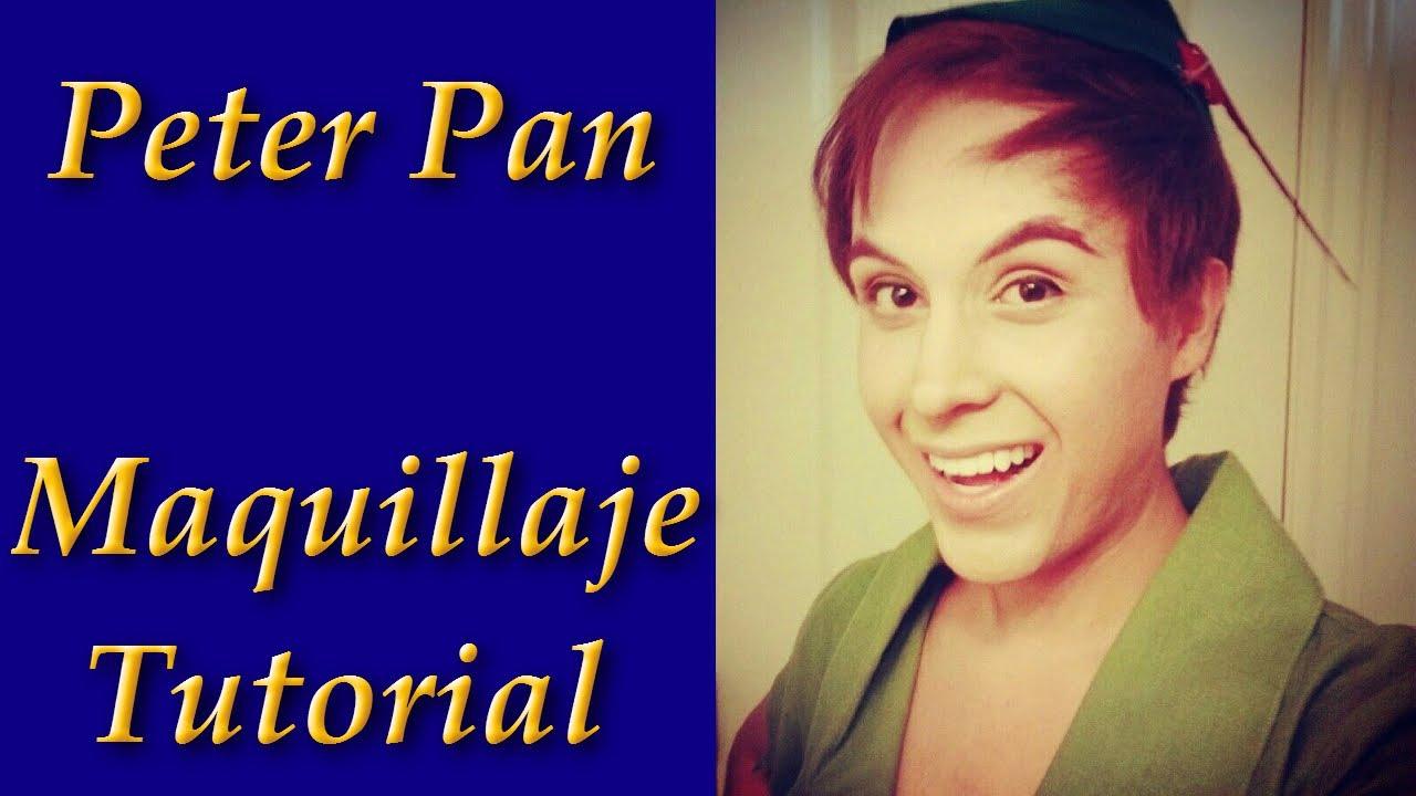 maquillaje peter pan