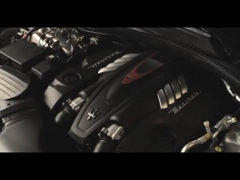 New Maserati Quattroporte 2013 Engine In Detail Commercial Carjam TV HD Car TV Show