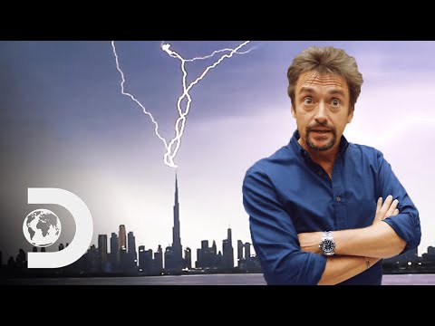 How The Burj Khalifa Is Dubai's Lighting Rod | Richard Hammond's Big