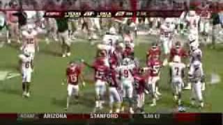 2008 Texas longhorns vs Oklahoma