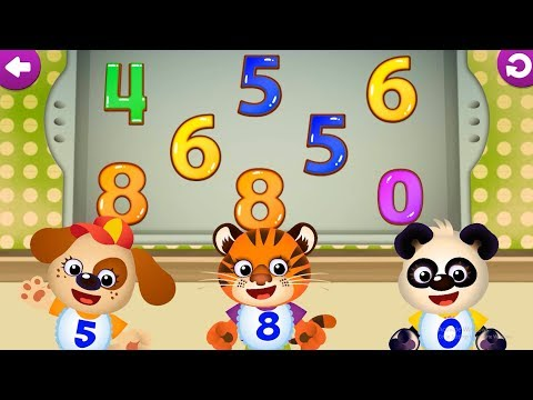 Let's Learn Numbers With Funny Garden Kids Edu Games