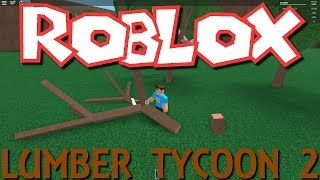 Roblox - Lumber Tycoon 2! (Also trying out my green screen!)