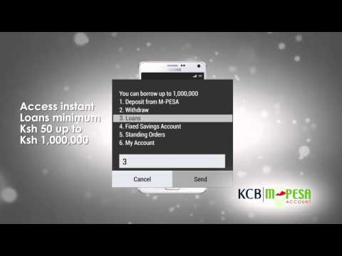 The KCB M-PESA Account - How It Works
