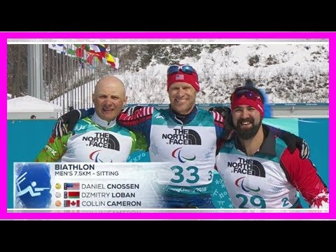 A double-amputee Navy SEAL platoon commander won a gold medal at the Winter Paralympics By J.News