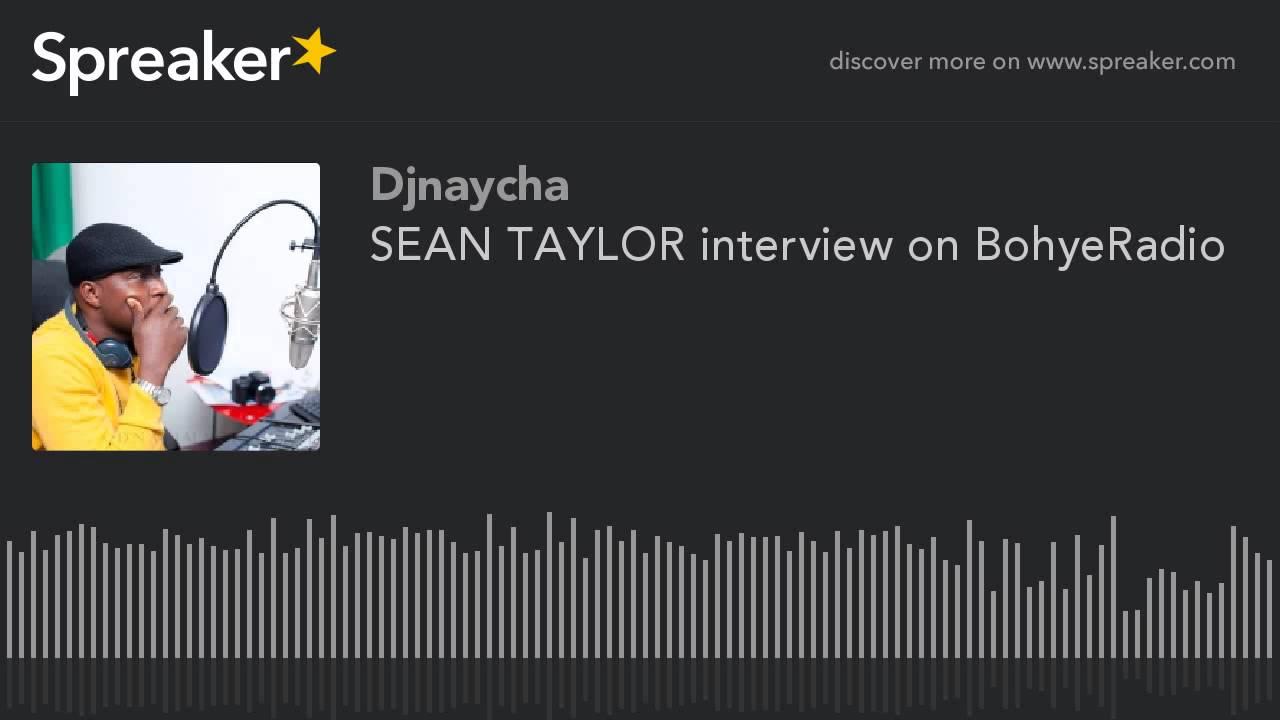 Sean taylor interview