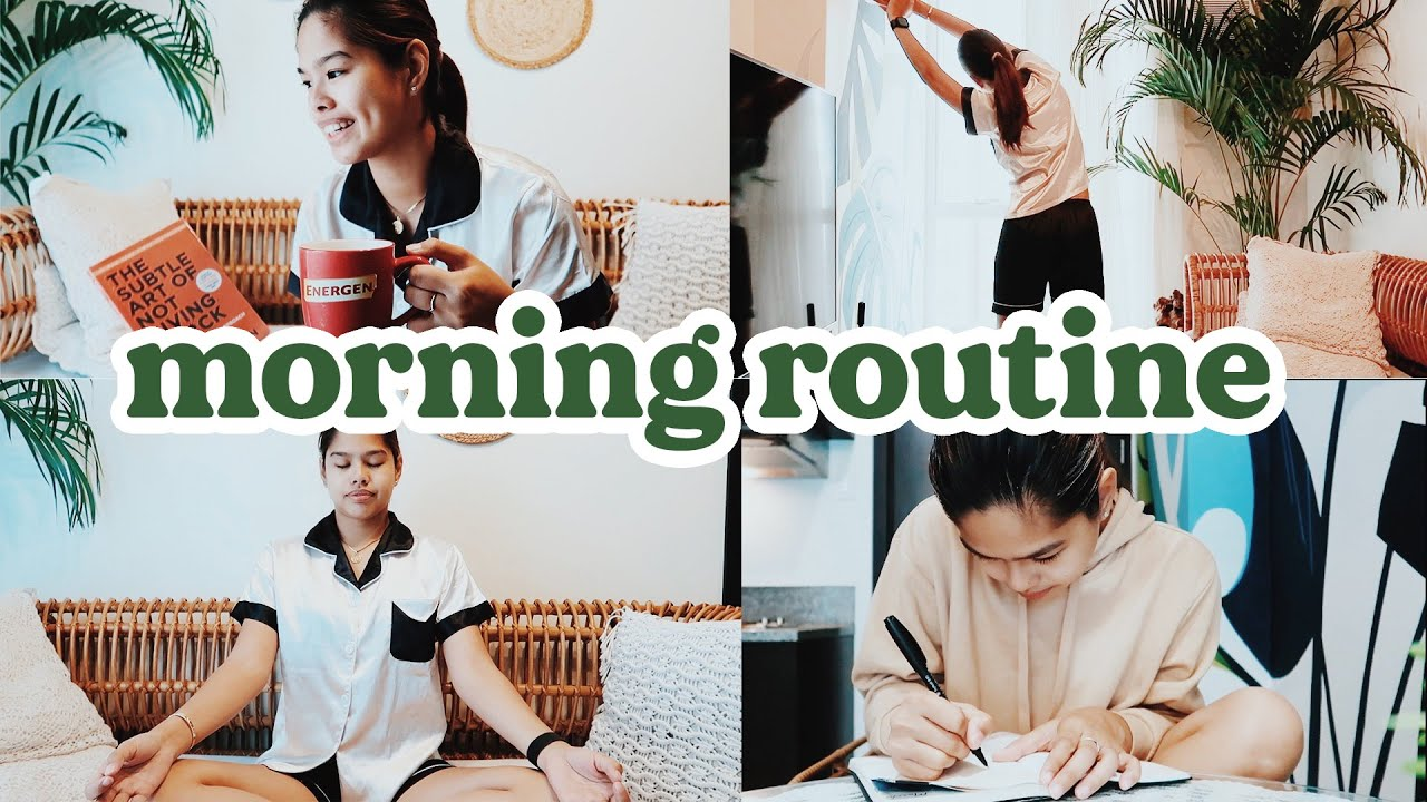 MORNING ROUTINE: WHY IS IT IMPORTANT? START YOUR DAY RIGHT WITH ME   Pilot Chezka Carandang