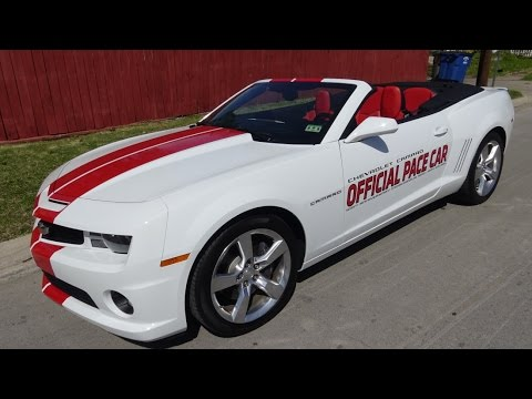 2011 Chevy Camaro Ss Indianapolis 500 Pace Car Convertible Youtube