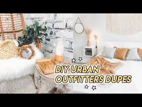 THRIFT WITH ME FOR URBAN OUTFITTERS HOME DUPES ☆