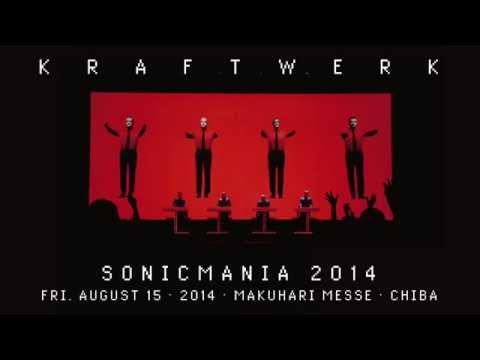 Kraftwerk - Sonicmania 2014 - Makuhari Messe, Chiba, 2014-08-15