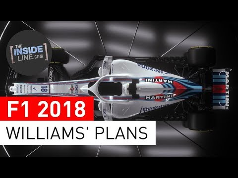 F1 NEWS 2018 - WILLIAMS: PRAGMATIC FORCE [THE INSIDE LINE TV SHOW]