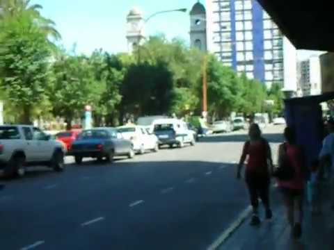 BAHIA BLANCA - PLAZA RIVADAVIA (ARGENTINA) Travel Video