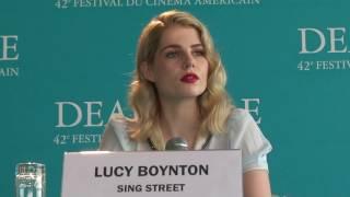 FCAD 2016 : Conférence de presse Sing Street (Lucy Boynton)
