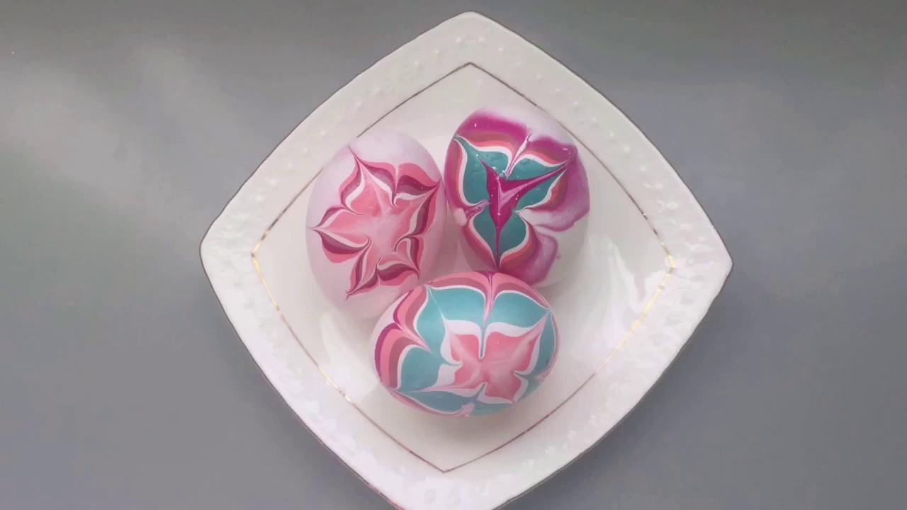 Как украсить яйца на Пасху/How to decorate egg for Easter.